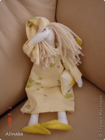 Тильда-сплюшка фото 1