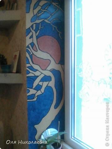 Полевой цветок В лучах заката меня Пленил на миг.  Крылья бабочек! Разбудите поляну Для встречи солнца. Хайку. Мне всегда была близка по духу Япония, завораживает красное солнце на фоне сакуры... Я попыталась сделать окно в японском стиле, вот что у меня получилось... фото 1