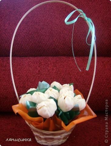 Вот такие букеты из конфет. фото 3