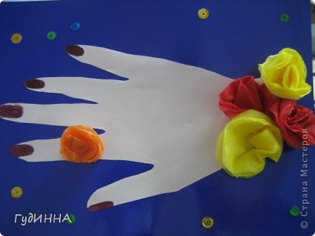 захотелось чтоб все увидели золотые руки мамы. фото 4