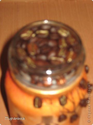Понравилось мне декорировать кофейные баночки,а тут ещё и порвод хороший 8 марта.Так,что всех подруг одарю)))) фото 2