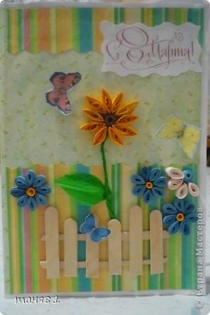 Наконец-то успела доделать открытки к празднику. фото 1