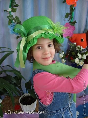 Радужные шляпки. Сделала для танца девочкам подготовительно группы. Вспомнила детский стишок... фото 12