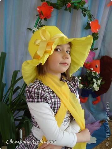 Радужные шляпки. Сделала для танца девочкам подготовительно группы. Вспомнила детский стишок... фото 11
