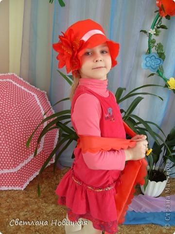 Радужные шляпки. Сделала для танца девочкам подготовительно группы. Вспомнила детский стишок... фото 9