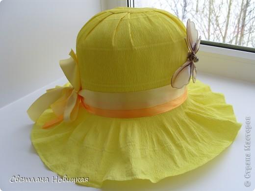 Шляпка для девочки из бумаги своими руками пошаговое фото