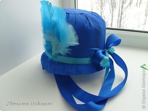 Радужные шляпки. Сделала для танца девочкам подготовительно группы. Вспомнила детский стишок... фото 7