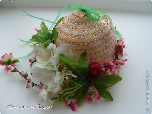 Радужные шляпки. Сделала для танца девочкам подготовительно группы. Вспомнила детский стишок... фото 15
