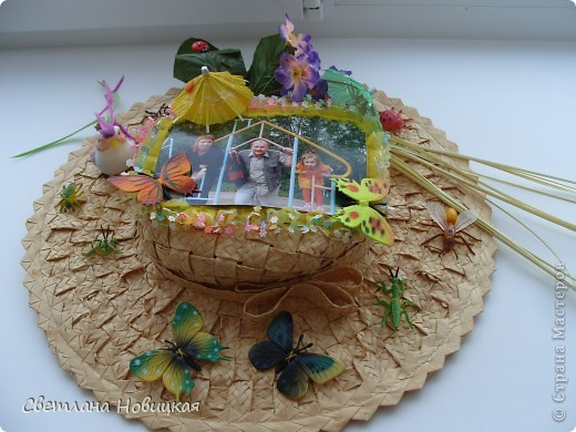 Радужные шляпки. Сделала для танца девочкам подготовительно группы. Вспомнила детский стишок... фото 16