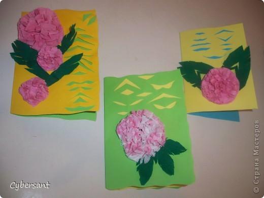 Вот такие открыточки сотворили мы  с моими малышами! фото 1