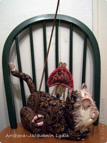 Вдохновившись работой Вдохновленной , чье МК http://stranamasterov.ru/node/40550?c=favorite  пришлось, как нельзя кстати - одной из внучек 13 марта исполняется 13 лет ,а значит она тигр и рыба, решила ей сделать игрушки к дню рождения из ивановских ситцев. Большое спасибо Вдохновленной и желаю ей еще большего вдохновения. фото 3