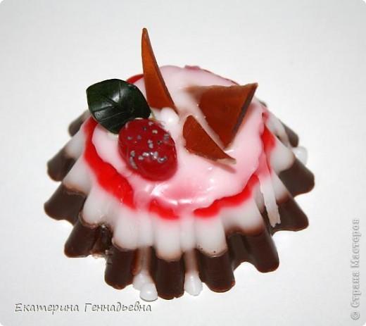 Шоколадно-клубничное суфле. фото 1