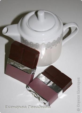 Шоколадно-клубничное суфле. фото 4