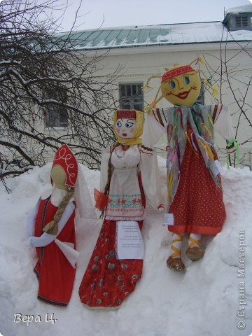 Куклы изготовлены учениками разных школ. Их все могли увидеть. фото 9