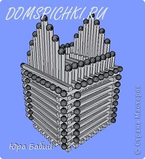 Скульптура Домик из спичек Спички фото 25