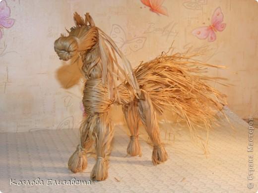 Лошадка из лыка фото 19