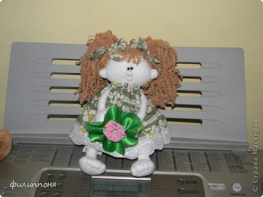 Вот такую девчушку сшила дочкам на 8 марта. Это Фея сна. Дочки назвали её Варенька. фото 2