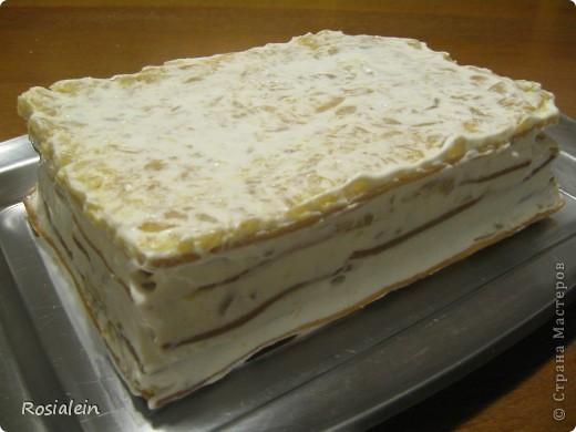 Ну что ж... угощайтесь !!! Хочу представить Вам один из двух моих самых любимых тортов по рецепту моей Бабушки :))) Это просто королевский яблочно-сметанный вкус !!! фото 13