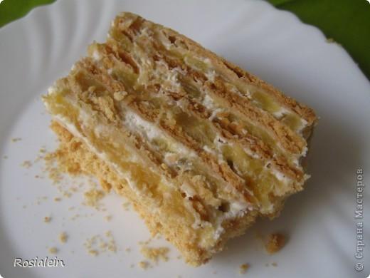 Ну что ж... угощайтесь !!! Хочу представить Вам один из двух моих самых любимых тортов по рецепту моей Бабушки :))) Это просто королевский яблочно-сметанный вкус !!! фото 17