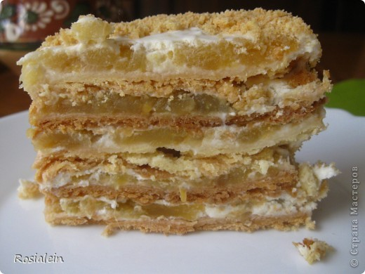 Ну что ж... угощайтесь !!! Хочу представить Вам один из двух моих самых любимых тортов по рецепту моей Бабушки :))) Это просто королевский яблочно-сметанный вкус !!! фото 18
