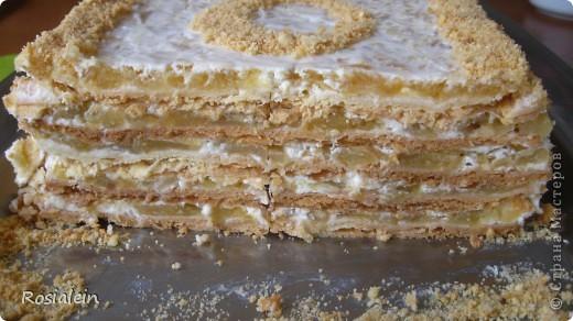 Ну что ж... угощайтесь !!! Хочу представить Вам один из двух моих самых любимых тортов по рецепту моей Бабушки :))) Это просто королевский яблочно-сметанный вкус !!! фото 16