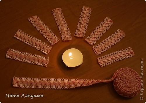 Мастер-класс 8 марта День матери День рождения Свадьба МК Шкатулка из шпажек Розовое настроение  фото 11