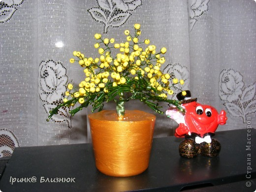 Мимозочка к празднику