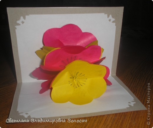 Эти открытки тоже подарены воспитанниками сотрудницам детского дома.  фото 6