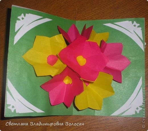 Эти открытки тоже подарены воспитанниками сотрудницам детского дома.  фото 7