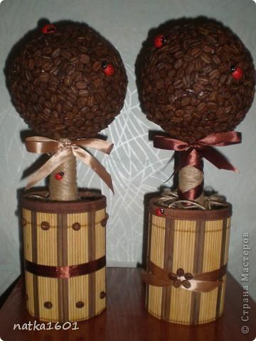 Насмотревшись на красоту в Стране смастерила два кофейных деревца, которые уже завтра найдут своих хозяек фото 3