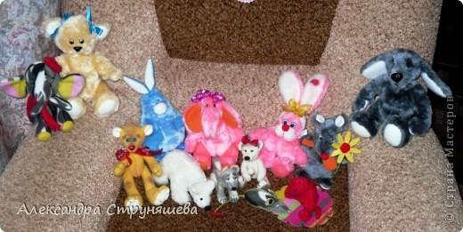 Все игрушки сшиты и сваляны меньше чем за месяц, очень нравится всё это дело, особенно валяние! фото 1