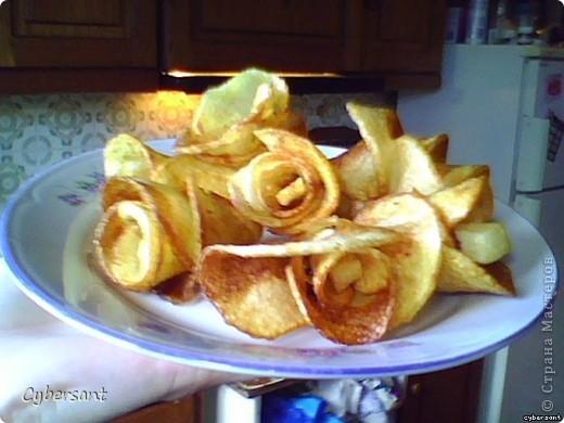 вот так можно поджарить картошку фри!