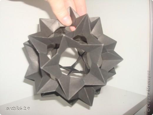 Вот смастерила еще одну из черной Электры и цветочков из бумаги для упаковки подарков . Вроде ничего получилось. фото 3