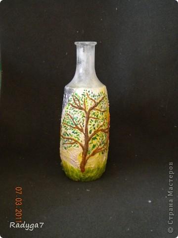 Это одно из сторон бутылочки-вазочки. фото 3