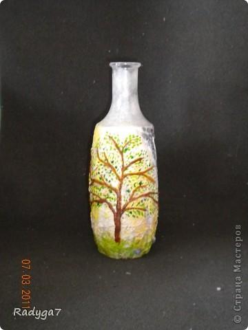 Это одно из сторон бутылочки-вазочки. фото 4