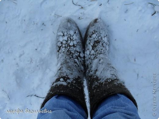 В лесу зима.Мы с друзьями ходили в лес и получили огромное удовольствие от прогулки.Там такая красота.Скоро все растает.Поторопитесь. фото 9