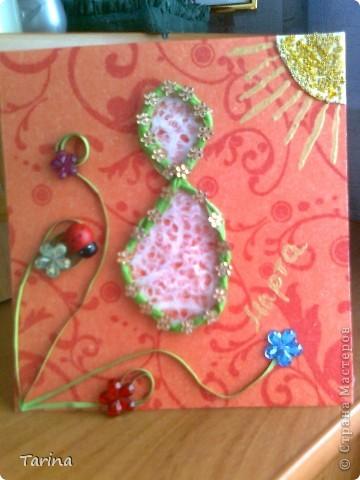открыточка для мамы на 8марта фото 5