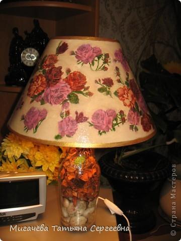 Лампа подруге на 8 МАРТА. фото 1