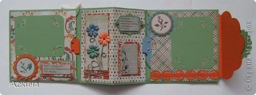Идею альбом-сумочки видела здесь http://scrap-info.ru/myarticles/article_storyid_110.html. Делать его одно удовольствие))) А сделала я его на день рождения снохи. У нее он был 8 марта!  фото 4