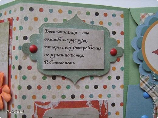 Идею альбом-сумочки видела здесь http://scrap-info.ru/myarticles/article_storyid_110.html. Делать его одно удовольствие))) А сделала я его на день рождения снохи. У нее он был 8 марта!  фото 10