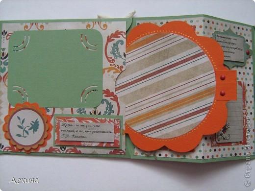 Идею альбом-сумочки видела здесь http://scrap-info.ru/myarticles/article_storyid_110.html. Делать его одно удовольствие))) А сделала я его на день рождения снохи. У нее он был 8 марта!  фото 6
