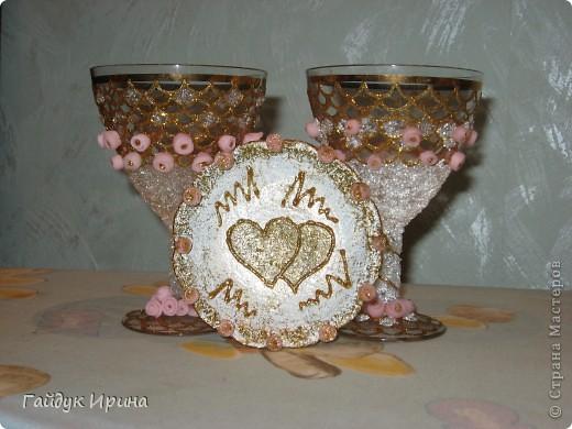 Бокалы на свадьбу фото 4