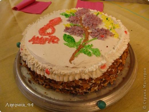 Взбитые сливки,арахис,ананас,бисквитное тесто и немного фантазии... фото 2