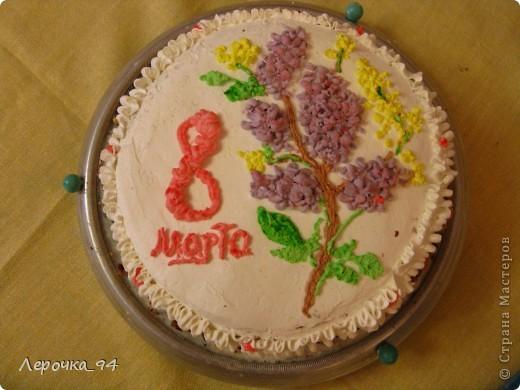 Взбитые сливки,арахис,ананас,бисквитное тесто и немного фантазии... фото 1