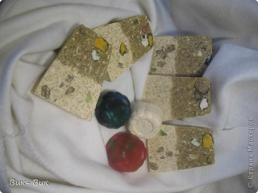Мыло -скраб , кофейно- овсяное. Пыталась камушки сделать! фото 4