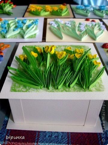 Вот такие коробочки под конфеты я заготовила для своих  подружек и родственниц на 8-ое марта фото 2