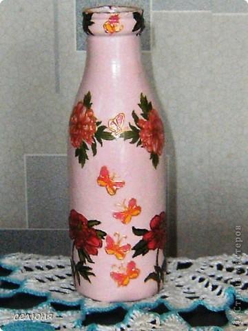 Вот какая вазочка сотворилась у меня к 8 марта! фото 1
