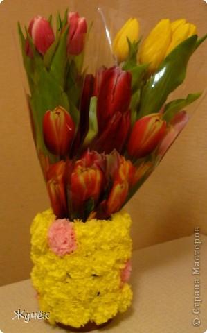 Ну вот и пригодилась мне вазочка!!! фото 1