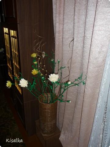 Букет хризантем фото 1