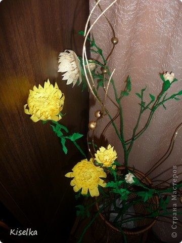 Букет хризантем фото 2